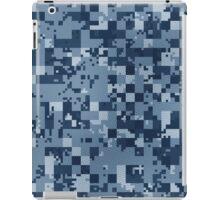 Cube Camo - Blue iPad Case/Skin