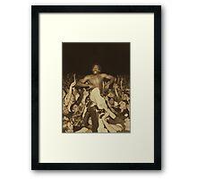 Meechy's renown - Flatbush Zombies Framed Print