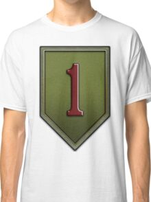 1st Infantry Division Logo - United States Army Classic T-Shirt