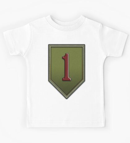 1st Infantry Division Logo - United States Army Kids Tee