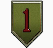 1st Infantry Division Logo - United States Army Unisex T-Shirt