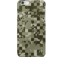 Cube Camo - Green iPhone Case/Skin