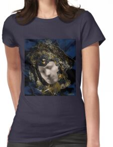 Mask of Love (or The Kiss) Womens Fitted T-Shirt