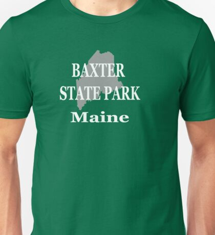Baxter State Park Maine Pride Unisex T-Shirt