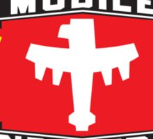 Mobile Infantry Flag Sticker