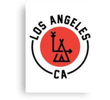 LA - Los Angeles [No background] Canvas Print