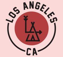 LA - Los Angeles [No background] One Piece - Long Sleeve