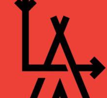 LA - Los Angeles [No background] Sticker