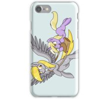 Derpy and Dinky [Transparent BG] iPhone Case/Skin