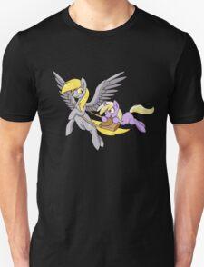 Derpy and Dinky [Transparent BG] Unisex T-Shirt