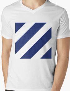 Logo of the 3rd Infantry Division, U. S. Army Mens V-Neck T-Shirt
