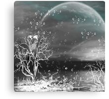 Raindrops keep fallin' on my head/ART + Product Design Canvas Print