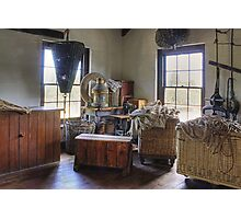 Sailmakers workplace at Flagstaff Hill Maritime Village Photographic Print