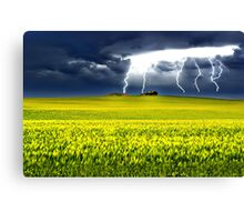 Lightning of Ruin Canvas Print