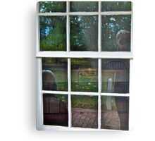 Reflections In the Kitchen Window  Metal Print