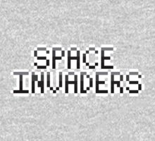 Space Invaders text by desuumbreon