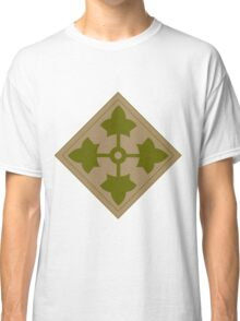 Logo of the Fourth Infantry Division, U. S. Army Classic T-Shirt