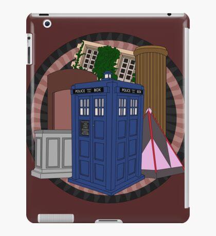The Forgotten TARDISes iPad Case/Skin