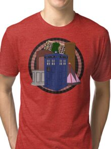 The Forgotten TARDISes Tri-blend T-Shirt