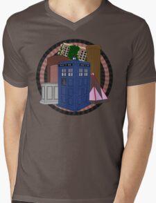 The Forgotten TARDISes Mens V-Neck T-Shirt