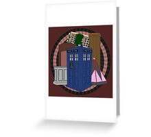 The Forgotten TARDISes Greeting Card
