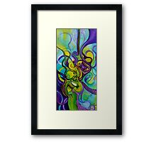 Feeling Green Framed Print