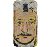 ALBERT EINSTEIN MURAL Samsung Galaxy Case/Skin