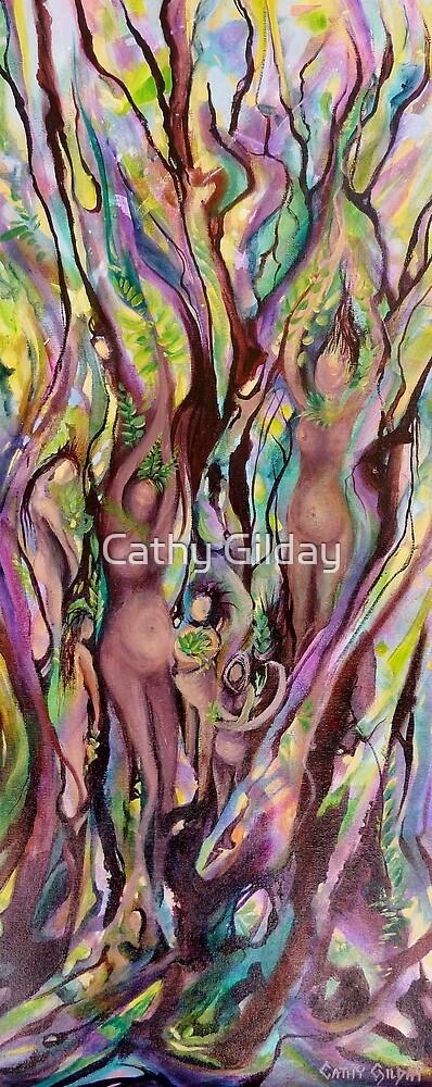 Rainforest Rebirth by Cathy Gilday