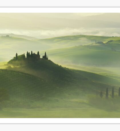 Val d'Orcia Sticker