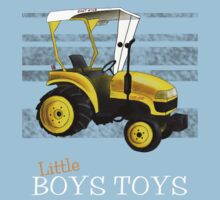 Little boys toys (white font) by Kristy Spring-Brown