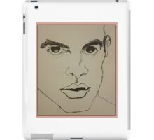 Brendon Urie Line Drawing iPad Case/Skin