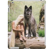 A Wolf and His Girl iPad Case/Skin