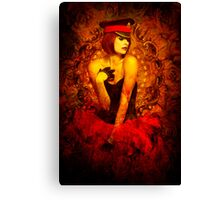 The slow death of Burlesque Canvas Print