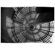 light. shot tower, melbourne Poster