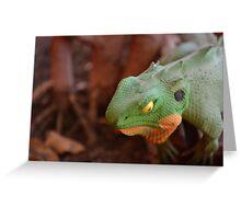 The Coloured Reptile Greeting Card