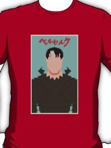Berserk - Guts / Gattsu - The Black Swordsman -Minimalist T-Shirt