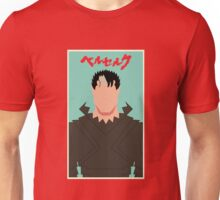 Berserk - Guts / Gattsu - The Black Swordsman -Minimalist Unisex T-Shirt