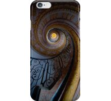 Spiral Staircase With Painted Ornaments iPhone Case/Skin