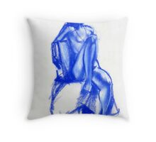 Abstract Chair Throw Pillow