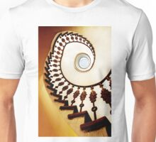 Spiral stairs in warm tones Unisex T-Shirt