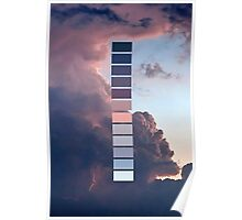 Palettes - three Poster