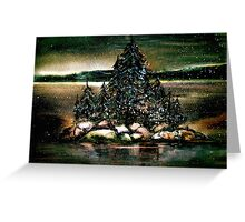 Christmas on Georgian Bay... Greeting Card