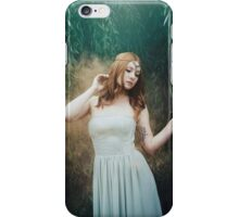 Beautiful girl red hair fantasy elven girl iPhone Case/Skin