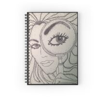 Magnifying Glass Spiral Notebook