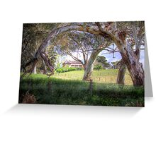 Princess Highway Farm - Nairne, Adelaide Hills, South Australia Greeting Card