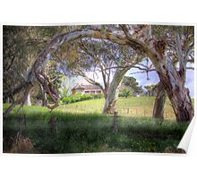 Princess Highway Farm - Nairne, Adelaide Hills, South Australia Poster