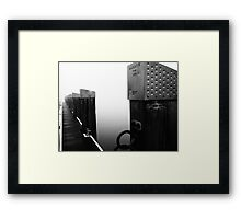 One Foggy morning Framed Print