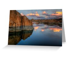 Cliffs and Clouds Greeting Card