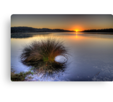 Awakening - Narrabeen Lakes, Sydney - The HDR Experience Canvas Print