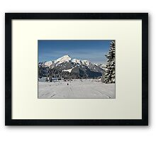 Alps 1 Framed Print